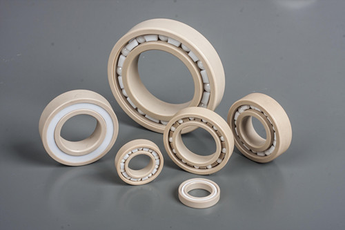 China Special engineering plastic PEEK bearing