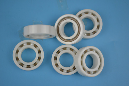 PEEK cage full ceramic ZrO2 ball bearing for bikes