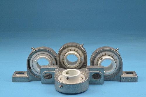 High precision corrosion resistance ceramic insert pillow block bearing
